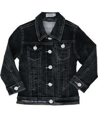 Interdit de me Gronder Cool - Veste en jean - noir