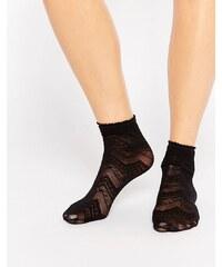 Gipsy - Chaussettes à chevrons - Noir