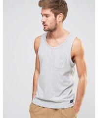 Selected Homme - Basic-Trägershirt aus Baumwolle - Grau