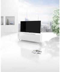 JUST-RACKS just-racks TV-Lowboard JRL1100S mit Klappe Breite 110 cm weiß
