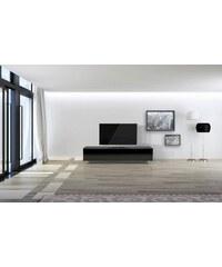 just-racks TV-Lowboard JRL1650S mit 2 Klappen un 1 Schublade Breite 164, 2 cm JUST-RACKS schwarz