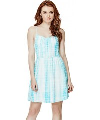 GUESS GUESS Rosabel Smocked Dress - turquoise