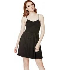 GUESS GUESS Rosabel Smocked Dress - jet black