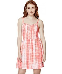 GUESS GUESS Rosabel Smocked Dress - coral
