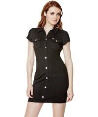 GUESS GUESS Annabell Shirtdress - jet black