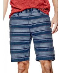 GUESS GUESS Bettino Striped Shorts - blue