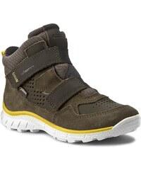 Kotníková obuv ECCO - Biom Trail Kids 70277259675 Grape Leaf/Grape Leaf/Black
