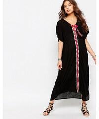 Pitusa - Caftan style marocain - Noir
