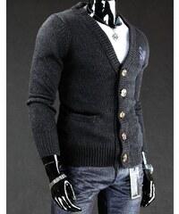 Černý pánský svetr SWJ