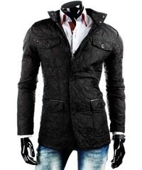 Černá pánská stylová bunda