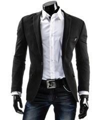 Černé pánské sako LUXUSNÍ MUŽ