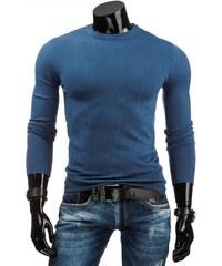 Klasický modrý pánský svetr