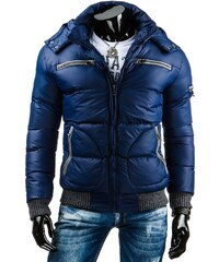 Cool nebeská zimní bunda pro správné chlapy