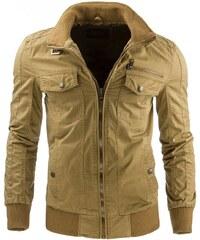 Elegantní béžová bunda pro muže