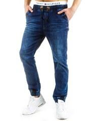 Tmavě modré pánské džíny