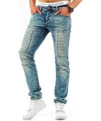 Vychytané pánské džínové kalhoty moderního střihu