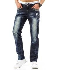 Pánské modré džínové kalhoty s nápisem RC Jeans
