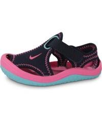 Nike Tongs Sunray Protect Bébé Bleu Rose Bébé