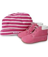 Timberland Streetwear Pack Boots 6-inch Crib Bonnet Rose Bébé