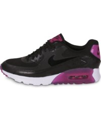 Nike Baskets/Running Air Max 90 Ultra Essential Noir Mauve Femme