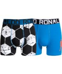 CR7 Sous-vêtements Pack 2 Boxers Enfant Bleu Et Noir Enfant