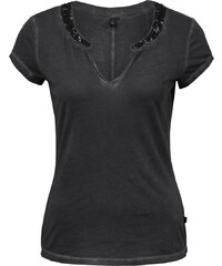 s.Oliver T-Shirt mit Pailletten-Applikation