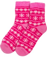 Yaktrax Chaussettes Chaussettes Aloe Cabin Rose Femme