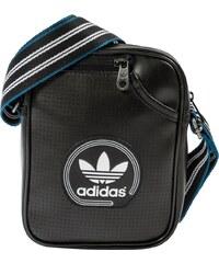 adidas Sacs Sacoche Mini Bag Perforated Noire Homme