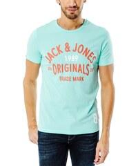 Jack & Jones Tee-shirt T-shirt Athletic Vert Homme