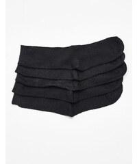 Chaussettes mi-hautes basic noires Jennyfer