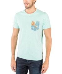 Jack & Jones Tee-shirt T-shirt Tropical Vert Eau Homme