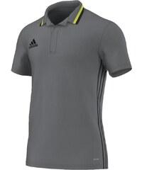 Dětské triko Adidas Condivo 16 CL Pólo 140 ŠEDÁ - ČERNÁ