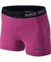 """NIKE2 Dámské šortky Nike Pro 3"""" L RŮŽOVÁ - ČERNÁ"""