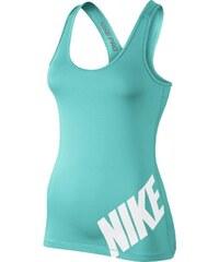 NIKE2 Dámské tílko Nike Pro Logo XS TYRKYSOVÁ