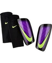 NIKE2 Chrániče Nike Mercurial Lite XS ČERNÁ - FIALOVÁ