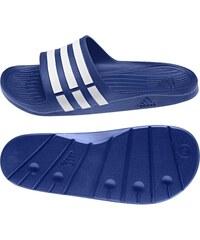 Pantofle Adidas Duramo Slide 48 2/3 MODRÁ