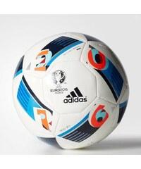 Mini míč Adidas EURO 16 - Beau Jeu 1 BÍLÁ - MODRÁ