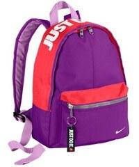 NIKE2 Dětský batoh Nike Classic UNIVERZÁLNÍ FIALOVÁ - ČERVENÁ
