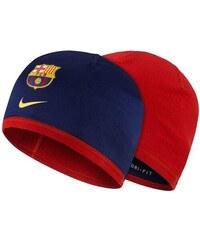 NIKE2 Čepice Nike FC Barcelona Beanie (oboustranná) UNIVERZÁLNÍ TMAVĚ MODRÁ - ČERV