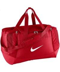Taška Nike Club Team Duffel (velikost M) UNIVERZÁLNÍ ČERVENÁ - BÍLÁ