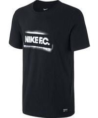 NIKE2 Triko Nike FC Stencil Block XL ČERNÁ - BÍLÁ