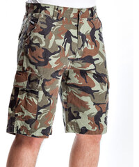 Kraťasy Nugget Genius Cargo 16 Shorts D-Camo