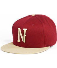 Kšiltovka Nugget Capital Snapback 16 B-Wine