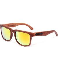 Sluneční Brýle Meatfly Sunrise Sunglasses 16 I-Brown Wood