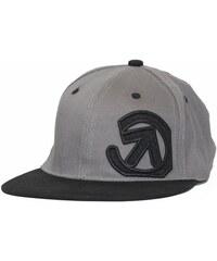 Kšiltovka Meatfly Snapback Logo Spring 2014 B - Grey