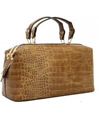 Karamelová kufříková kabelka Bessie London