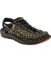 Pánské outdoorové sandále KEEN UNEEK STRIPES M ORANGE OCHRE/RAYA