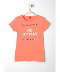 s.Oliver Glitter-Shirt mit Pailletten