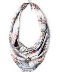 Charlotte Hudders Foulard Blossom Silver