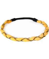 Sage et Sauvage Headband - Eve - Jaune or